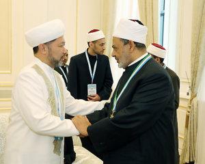 Бас мүфти Мысыр шейхы Ахмет Тайыппен сұхбаттасты