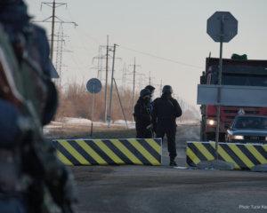 Карантин: Атырауда блок посттар орнатылды (+ ВИДЕО)