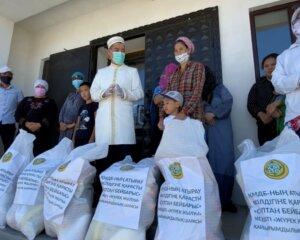 Атырау: Сұлтан Бейбарыс мешітінде қайырымдылық акциясы өтті (+ВИДЕО)