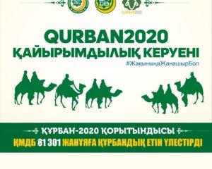Құрбан - 2020: Ел бойынша 81 301 отбасы етпен қамтылды