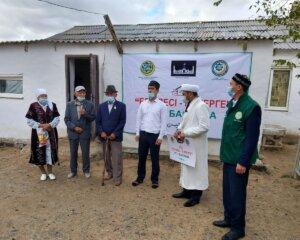 ҚМДБ - 30: Мұқыр ауылында баспана және жергілікті мешітте дәретхана пайдалануға берілді (+ВИДЕО)