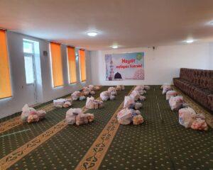 Атырау: Жұлдыз мешітінде қайырымдылық акциясы өтті