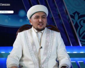 Атырау: Бас имам Алтынбек Ұтысханұлы Рамазанға байланысты сұхбат берді (+ ВИДЕО)